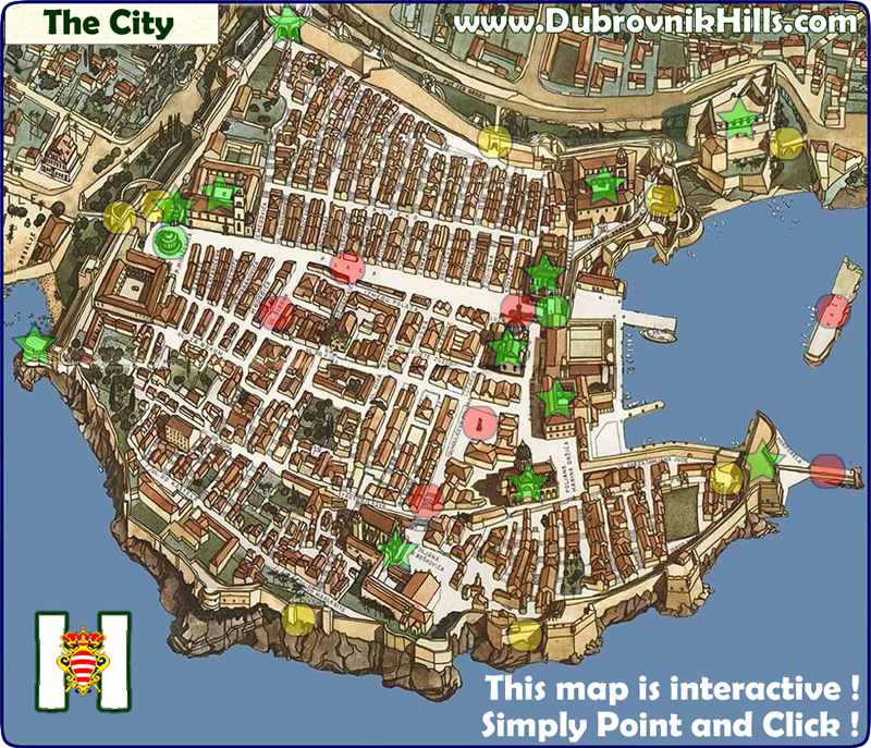 Dubrovnik maps interactive maps of dubrovnik dubrovnik city map gumiabroncs Image collections