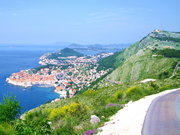 View of Dubrovnik from Bosanka
