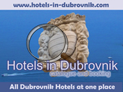 Catalogue and booking of Dubrovnik hotels