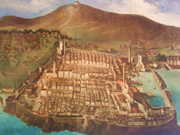 Painting of Dubrovnik before the great earthquake