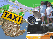 Taxi and bus service in Dubrovnik