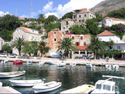 Mlini, a part of Dubrovnik Riviera