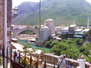Stari most in Mostar, one of the attractions of Bosnia and Herzegovina