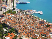 Split - the biggest city in Croatian Dalmatia