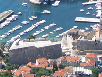 Fortress Revelin on Dubrovnik City Walls