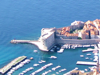 St John fortress on Dubrovnik City Walls