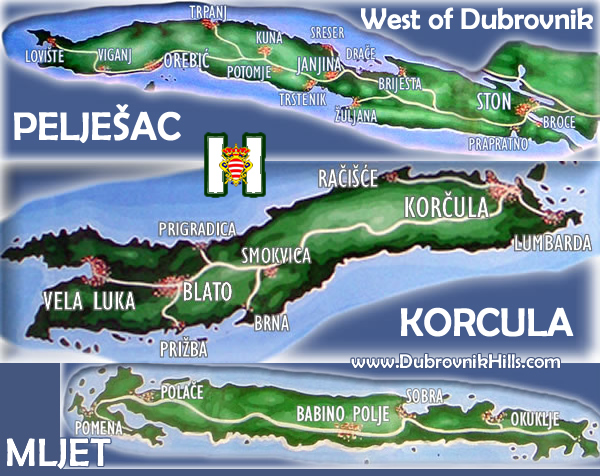 Dubrovnik Maps Interactive Maps Of Dubrovnik - Croatia interactive map